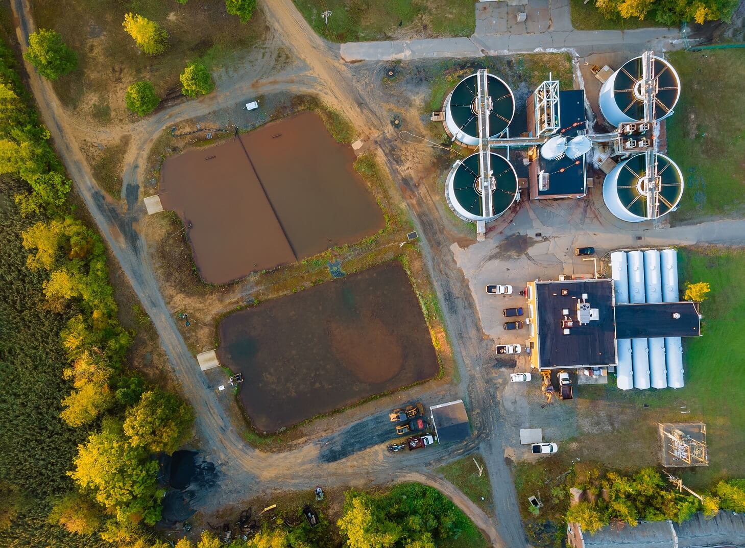 aerial-view-sewage-treatment-plant-modern-wastewater-industrial-water-treatment
